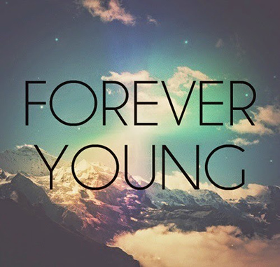 forever young whatsapp dp