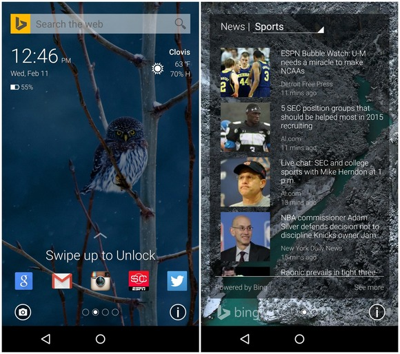 Lock Screen Apps for Android Picturesque