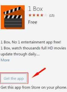 download showbox for windows phone