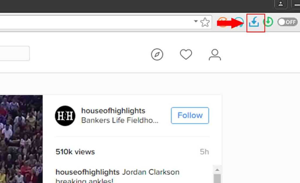 instagram download using torch browser