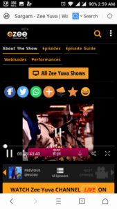 download ozee videos on uc browser