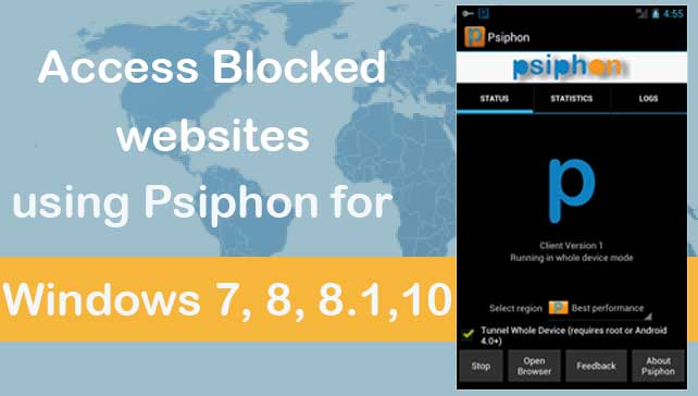 psiphon for pc windows 7,8.1,10