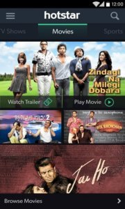 hotstar movie app for android