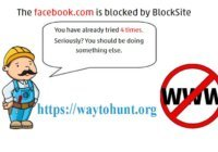 block a website in windows 7, 8, 10 or chrome