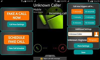 Fake Call/ Prank call Apps for Android