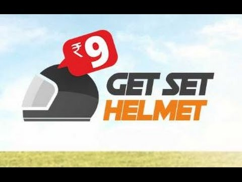 get helmet at rs 9