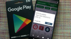 get google play credit / earn google play money