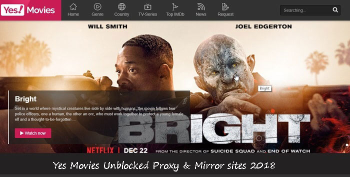 Yes Movies Proxy | New Yes Movies Proxy & Mirror sites | Yes Movies Unblocked