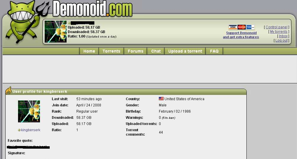 demonoid proxy link
