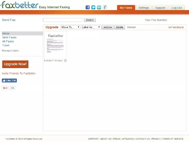 faxbetter free online fax no credit card required