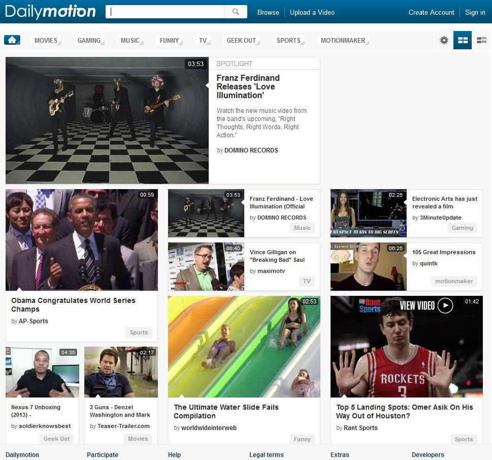 DailyMotion Proxy and Official Mirror sites to Unblock Dailymotion.com