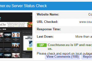 is couchtuner down