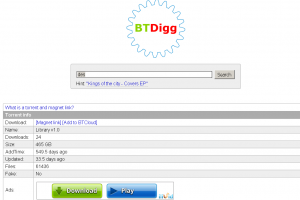 btdigg proxy and Mirror sites
