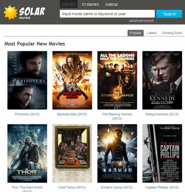 solar movie unblocked sites like solar movie alternatives
