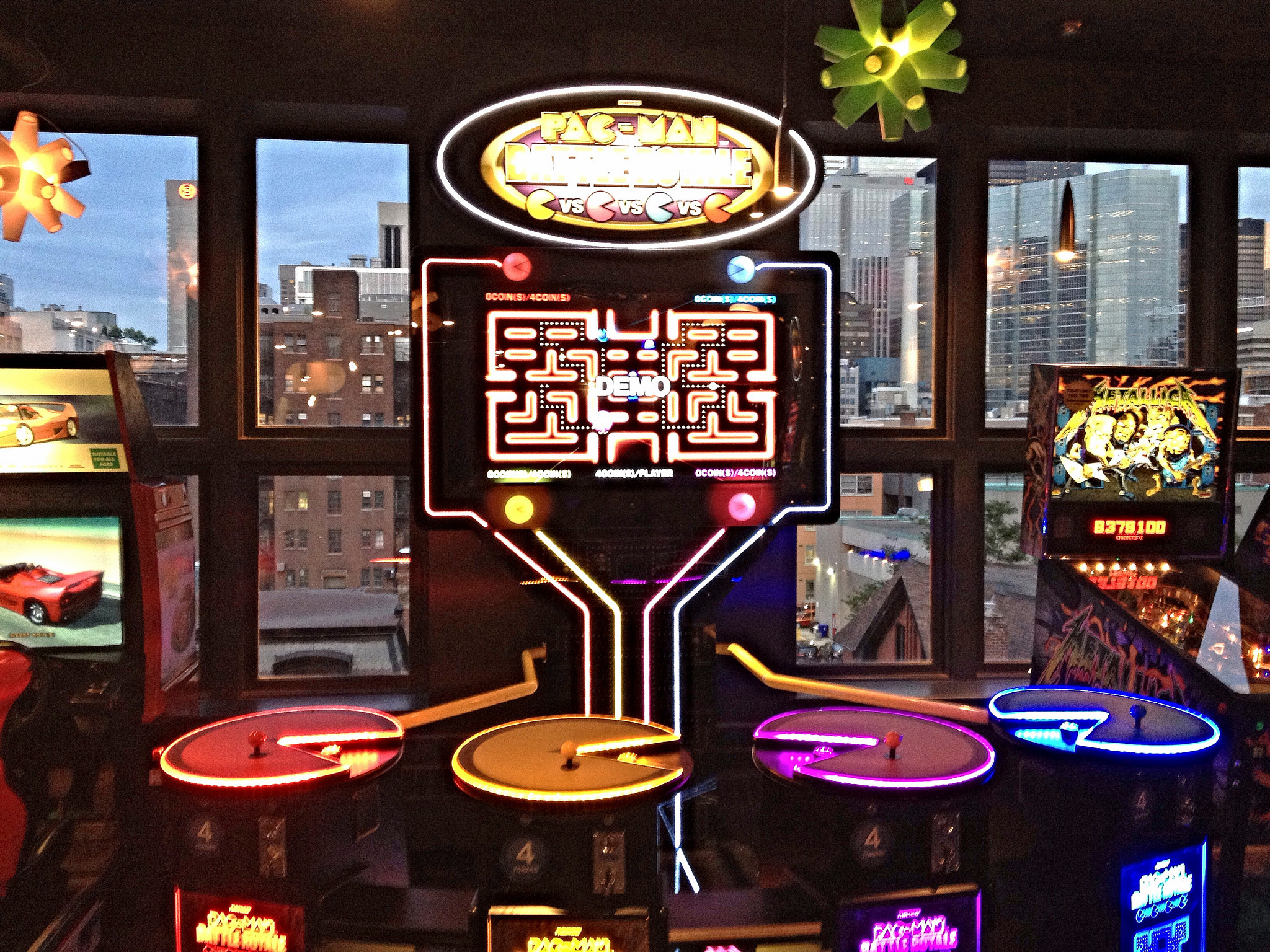 4-player Pac-Man anyone?