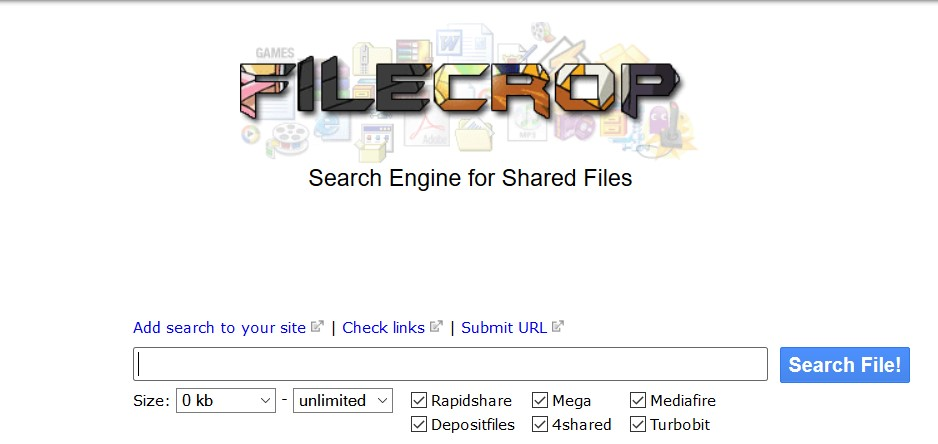 Filecrop proxy | List of Filecrop Proxy and Unblocked Mirror Sites