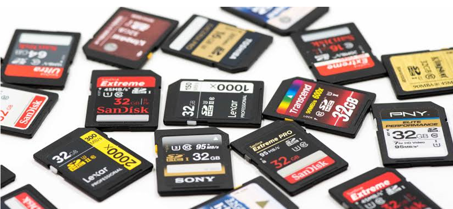 How does an SD card work? Here's a list